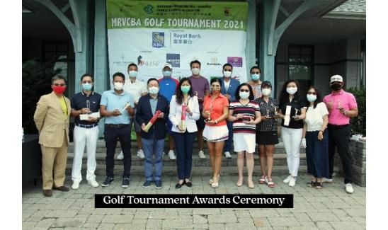 Golf Tournament Awards Ceremony
