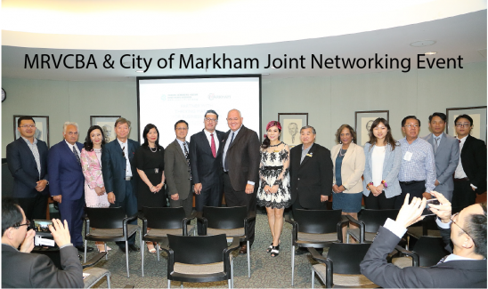 MRVCBA & City of Markham Joint Networking Event